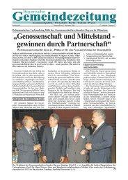 Gemeindezeitung Gemeindezeitung - Bayerische Gemeindezeitung