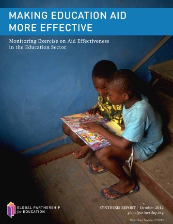 Making Education Aid More Effective - Global Partnership for ...