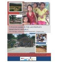 typhoon haima in the lao people's democratic republic - GFDRR