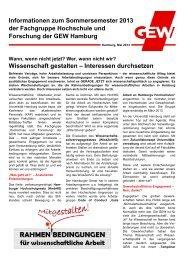 Informationen zum Sommersemester 2013 der Fachgruppe ...