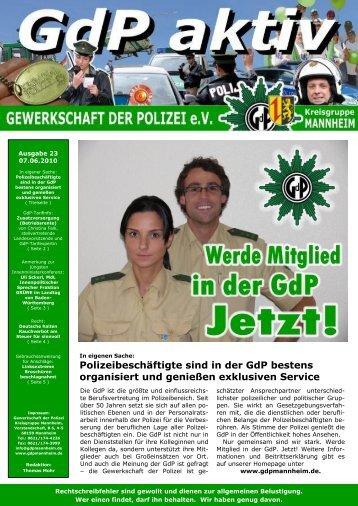 GdP digit@l - GdP Mannheim
