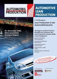 Lean Production in der Automobil industrie - Global Value ...