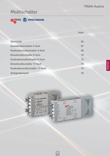 Multischalter - Triax