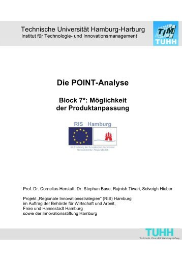 Die POINT-Analyse Block 7*: Möglichkeit der ... - Global Innovation