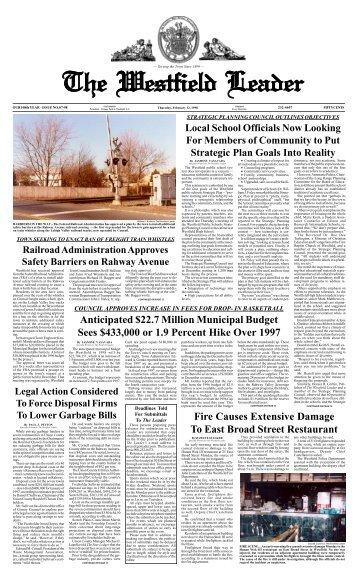 98feb12 newspaper - The Westfield Leader