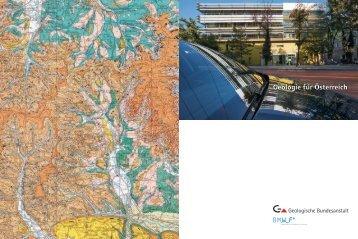 Geologie für Österreich - Geologische Bundesanstalt