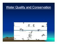 Water Quality and Conservation - Gloucester County Virginia