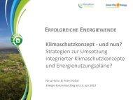 Strategien zur Umsetzung integrierter Klimaschutzkonzepte und ...