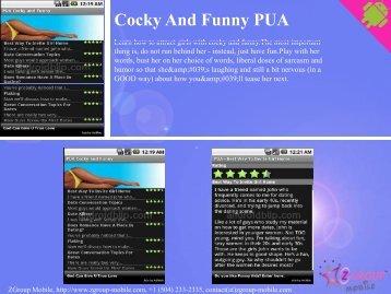 Cocky funny pua