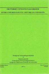 Jaargang / Année 3, 1997, nr. 1 - Gewina