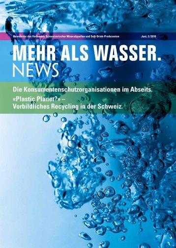 Vorbildliches Recycling in der Schweiz. - Verband Schweizerischer ...