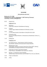 "PROGRAMM ""Doing Business with India ... - Global Innovation"