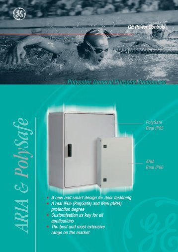 Polyester General Purpose Enclosures - G E Power Controls
