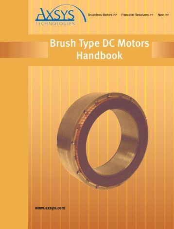 Brush Type Manual - General Dynamics Global Imaging Technologies