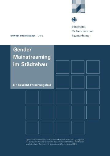 Gender Mainstreaming im Städtebau
