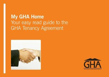 GHA Easy Read v8 - Glasgow Housing Association