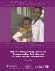 Behavior Change Perspectives (Full Text) - FHI 360 Center for ...