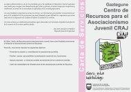 Centro de Recursos para el Asociacionismo Juvenil ... - Gipuzkoa.net