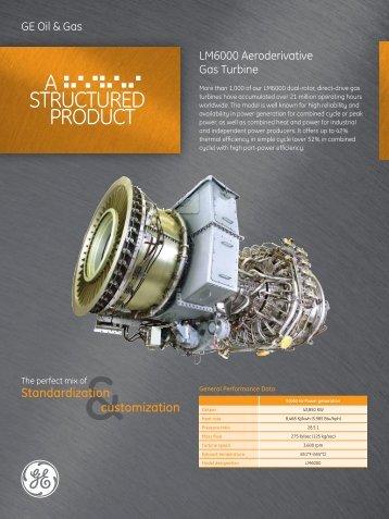 LM6000 Aeroderivative / PDF 1373kb - GE Energy