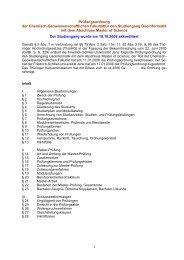 Prüfungsordnung der Chemisch-Geowissenschaftlichen Fakultätfür ...