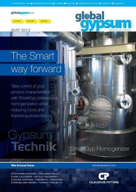 Global Gypsum Magazine - May 2013