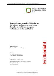 Kosten und Nutzen der EEG-Förderung - Agentur für Erneuerbare ...