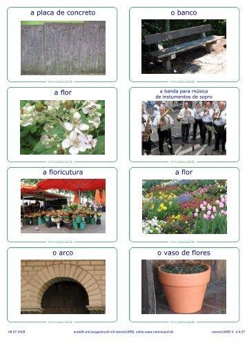 o banco a placa de concreto a flor a flor a floricutura o vaso de flores ...