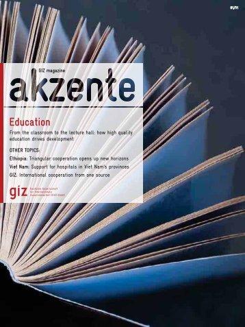 Complete issue (pdf, 5.91 MB, EN) - GIZ