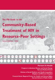 Community-Based Treatment of HIV in Resource-Poor ... - GHDonline