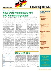 Journal Mai 2004 - gdp-deutschepolizei.de