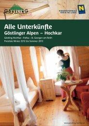 bilden - Tourismusverein Göstlinger Alpen