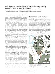 Geological Survey of Denmark and Greenland Bulletin 17 ... - Geus