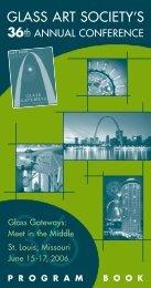 2006 GAS PB for pdf - Glass Art Society