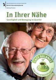 In Ihrer Nähe - Gesundheit.bs.ch - Basel-Stadt