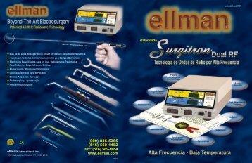 Surgitron Dual Frequency Catalogo - Venta de equipos médicos