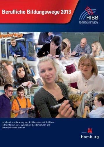 Berufliche Bildungswege 2013 - Hamburger Institut für Berufliche ...