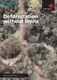 Deforestation without limits - Global Witness