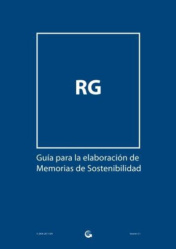 Guía para la elaboración de Memorias de Sostenibilidad - Global ...