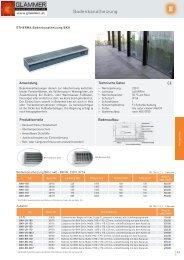 Bodenkanalheizung - GLAMMER Industriebedarf KG