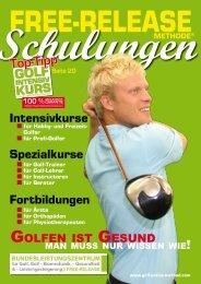 Golf-Medical-Coachnach der FREE-RELEASE-Methode