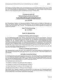 PO 2009 - Allgemeiner Teil - Deutsches Seminar - Leibniz ...