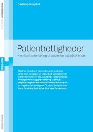 Læs meget mere om patientrettigheder her - Glostrup Hospital