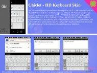 Chiclet - HD Keyboard Skin - Get Mobile game