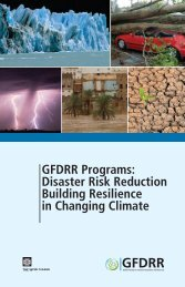 Disaster Risk Reduction Building Resilience in ... - ReliefWeb