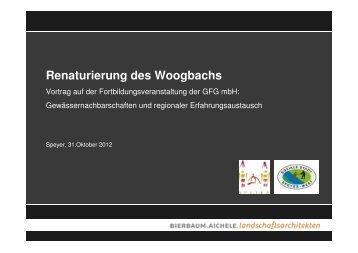 Vortrag 4 Renaturierung des Woogbachs