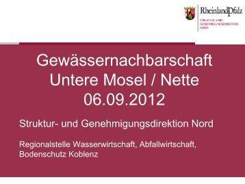 Vortrag 3 Informationen zum Stand der Umsetzungen von ...