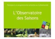 L'Observatoire des Saisons - CNRS