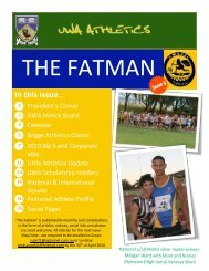 Issue 5 - UWA Athletics