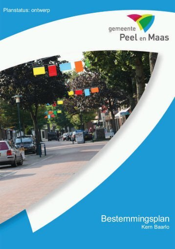Toelichting - Gemeente Peel en Maas