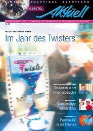 GERSTEL Aktuell Nr. 25 (pdf; 3,61 MB) - Gerstel GmbH & Co.KG